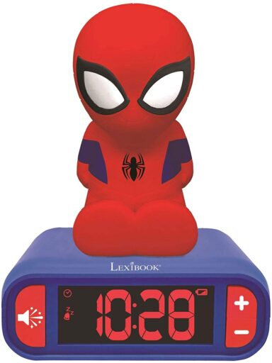 Despertador infantil Spiderman